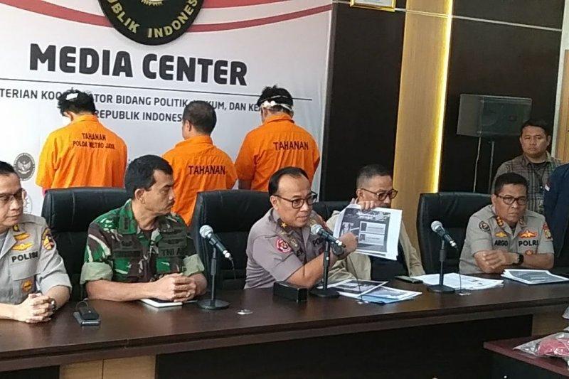 Selama aksi Mei, polisi tangani 10 kasus hoaks