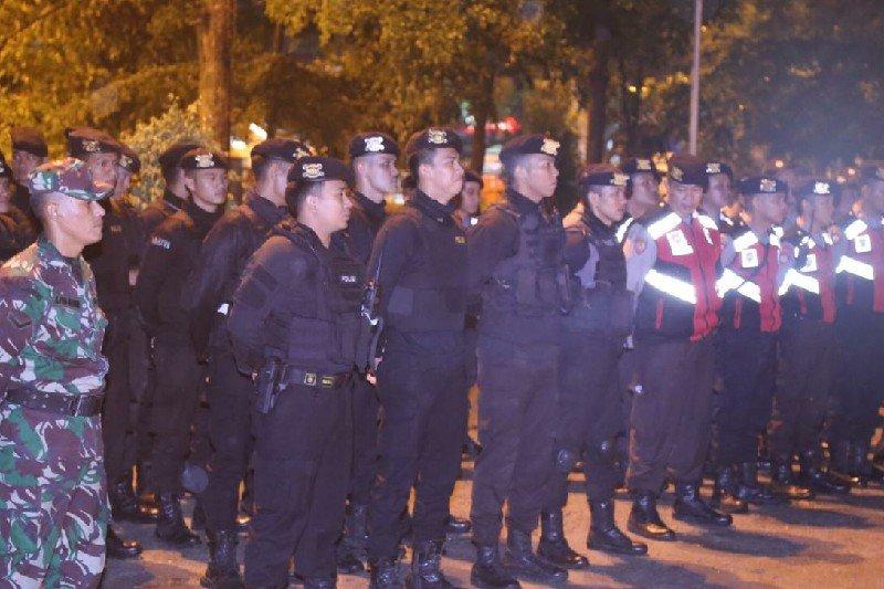 Patroli skala besar antisipasi gangguan kamtibmas di Medan