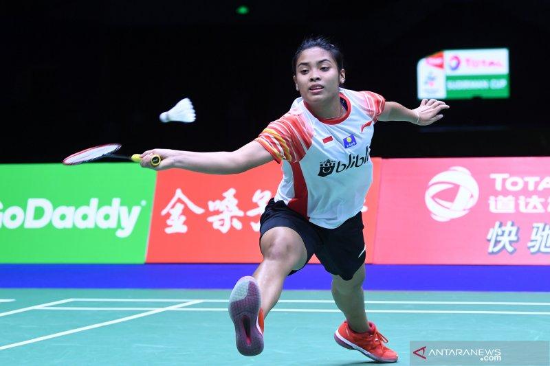 Gregoria tantang Ratchanok di Indonesia Open