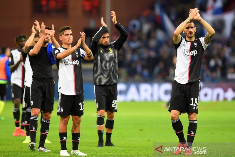 Posisi akhir klasemen Liga Italia 2018/2019