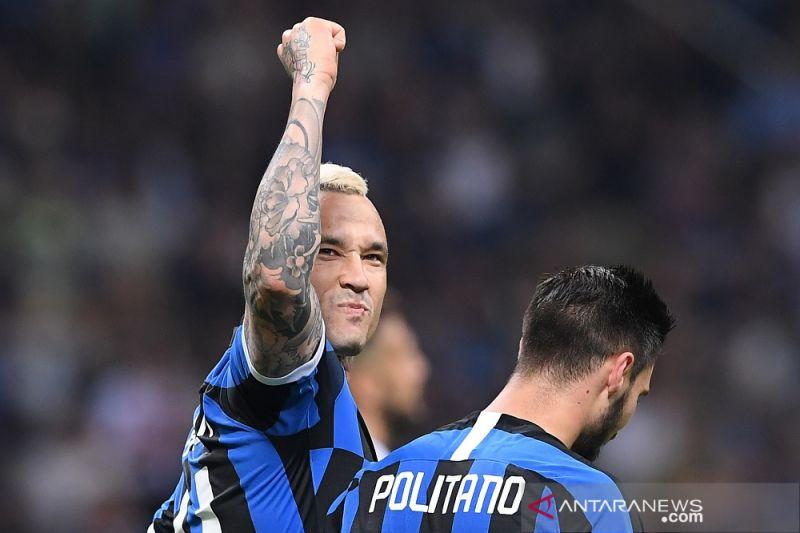 Kalahkan Empoli 2-1, Inter finis empat besar klasemen akhir