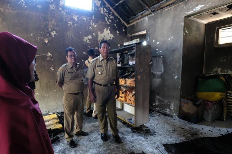 Wali kota bantu perbaikan PAUD/TK Asy Syaffa' 2 yang terbakar