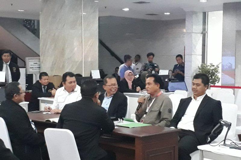Kuasa hukum Jokowi-Ma'ruf konsultasi ke MK untuk pihak terkait