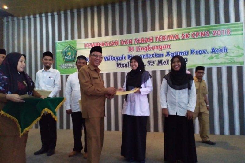 Kemenag Aceh ingatkan CPNS tak cepat minta pindah tempat tugas