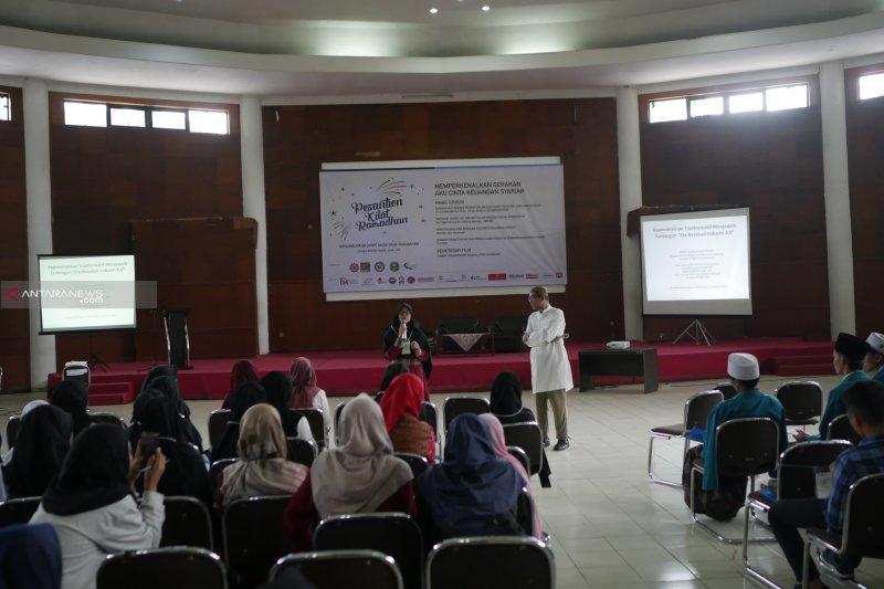Peserta Sanlat Ramadhan diajak melihat pusat riset  SEAMEO BIOTROP
