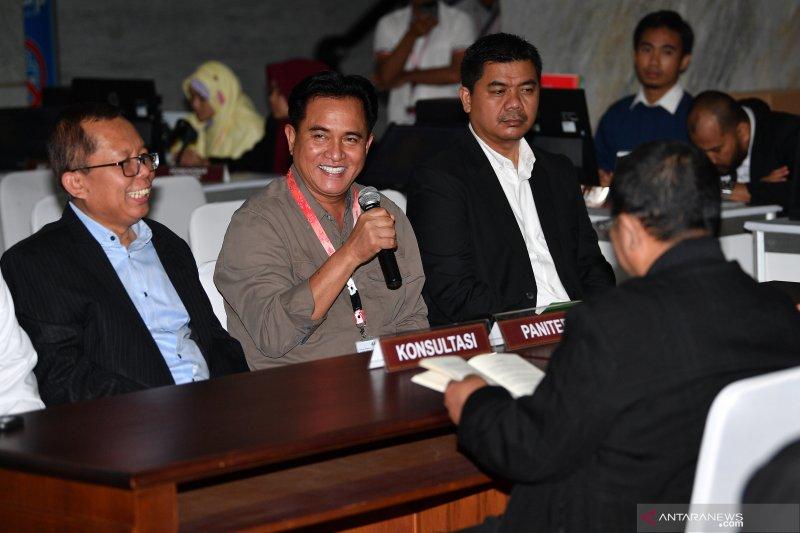 Sikapi perubahan permohonan Prabowo-Sandi, Yusril: Kami tidak akan terpancing