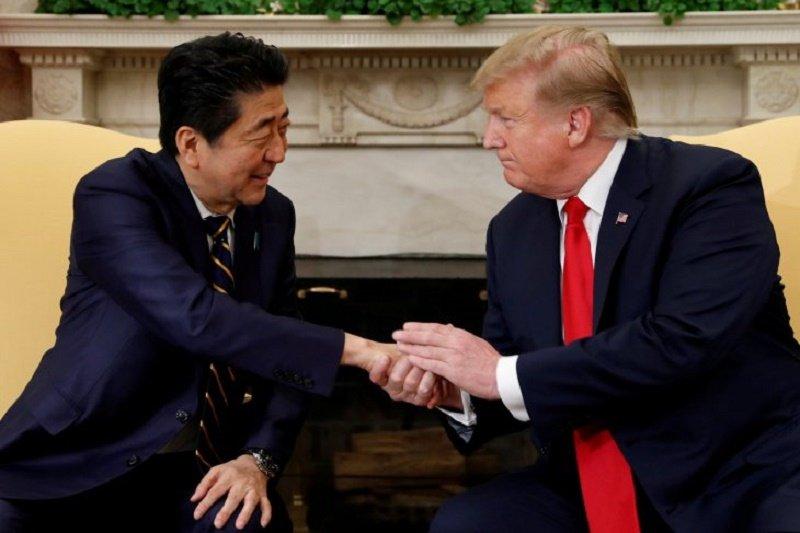 PM Jepang Shinzo Abe bertekad tunjukkan aliansi kuat dengan AS