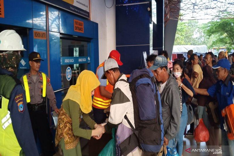 6.364 pemudik jalur laut sudah berangkat ke Surabaya dari Banjarmasin