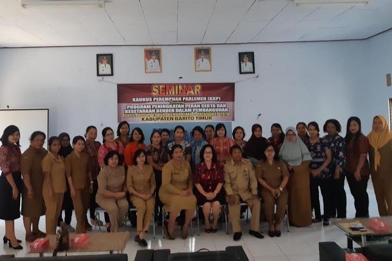 KPP Bartim motivasi perempuan terlibat dan berkarya memajukan pembangunan