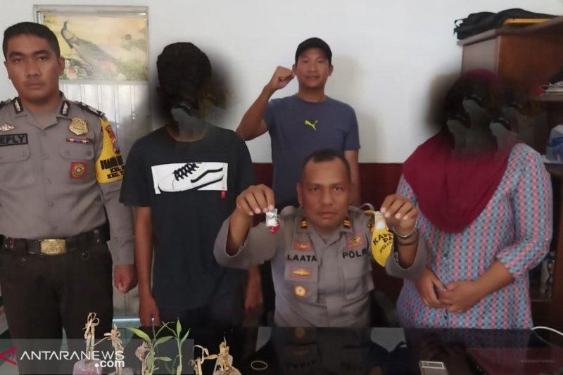 Seorang ibu rumah tangga dan pelajar di Palu ditangkap karena kasus narkoba