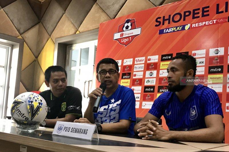 PSIS Semarang tidak memiliki persiapan khusus melawan Persebaya
