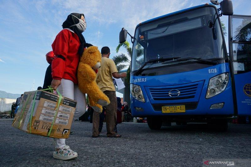 Evaluasi: arus mudik dan balik Lebaran di Sulteng lancar