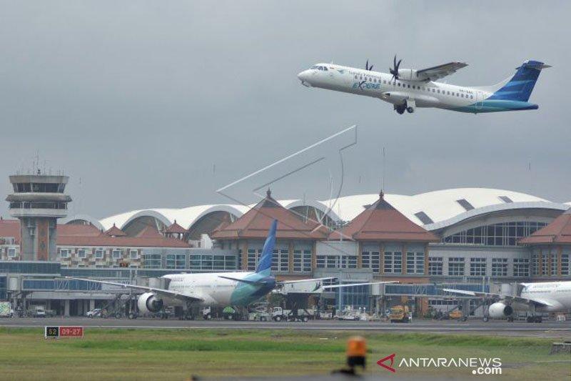 Penerbangan tambahan Bandara Ngurah Rai turun 254 persen