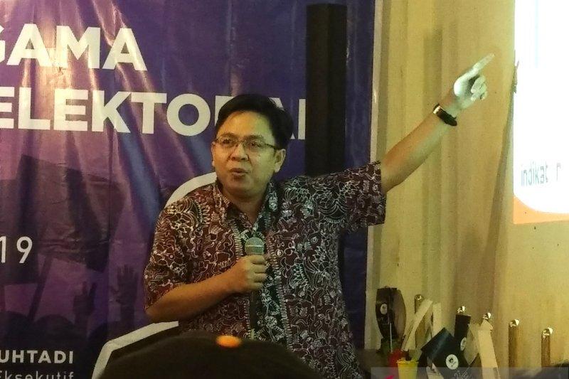 Burhanuddin Muhtadi: Pemilih NU penentu kemenangan Jokowi-Ma'ruf