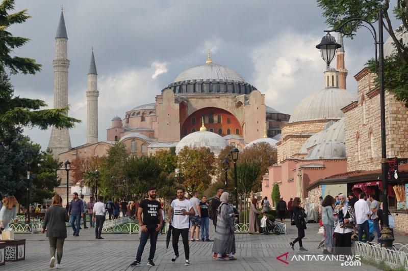 Turki akan putuskan legalitas alih fungsi Hagia Sophia pada 10 Juli