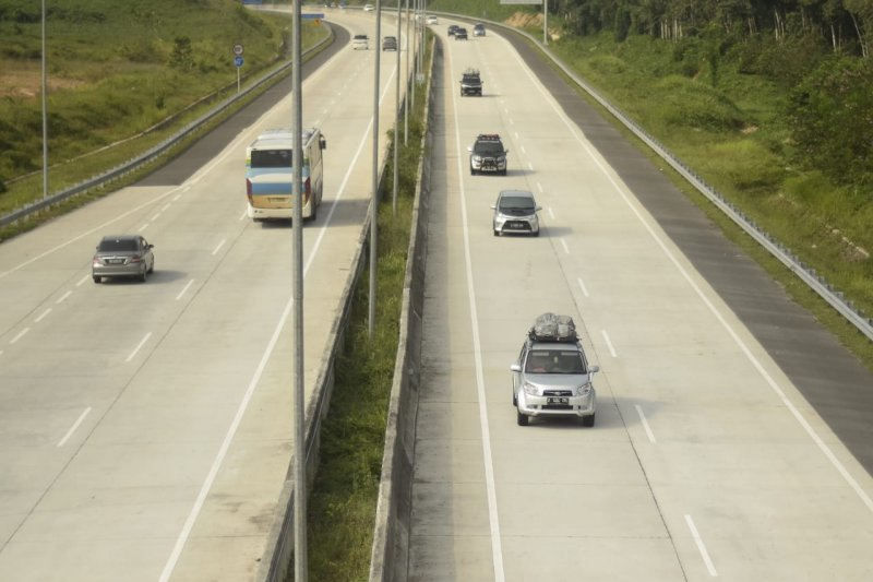 Pemudik pilih lewat Tol Trans Sumatera daripada jalan nasional pada arus mudik 2019