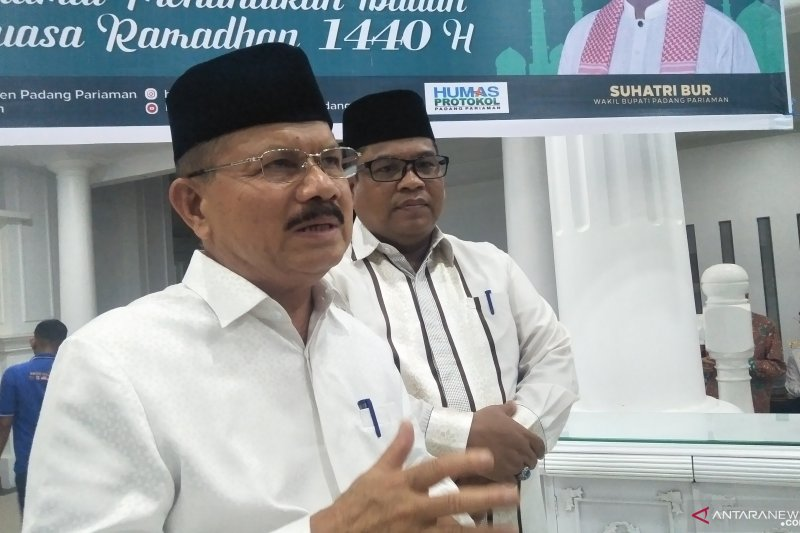 Padang Pariaman pusatkan i'tikaf di Masjid Syekh Burhanuddin