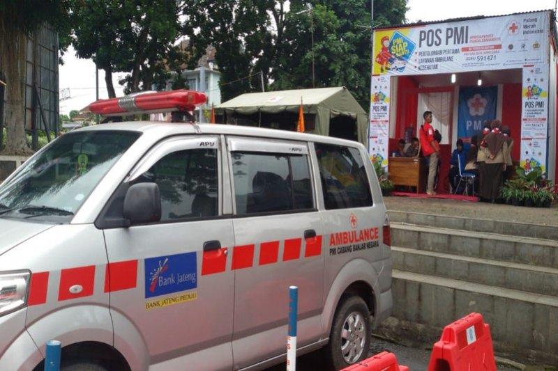 PMI Banjarnegara siagakan dua unit ambulans pada arus mudik