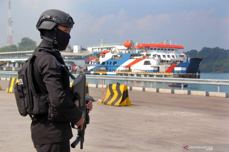 Pengamanan Pelabuhan Merak
