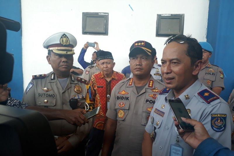 2.823 pemudik diberangkatkan dari Terminal Jatijajar Depok