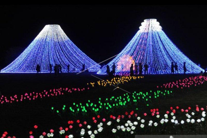 """""""Nusa Dua Light Festival"""" ditargetkan  tiap hari dikunjungi 3.000 orang"""