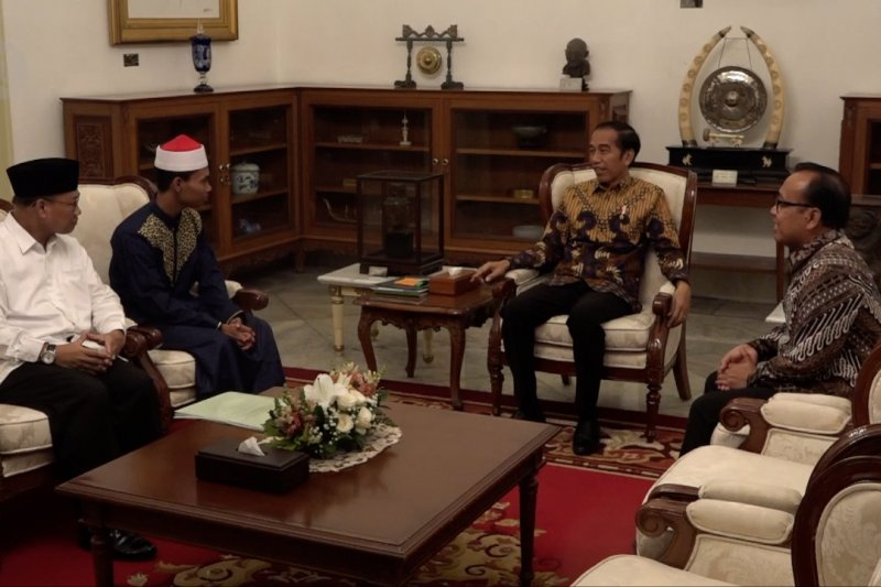 Juara MTQ internasional temui presiden di istana