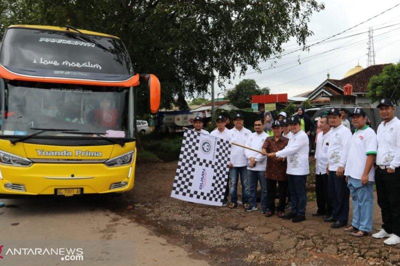 Semen Baturaja berangkatkan 200 pemudik program Mudik Bareng BUMN