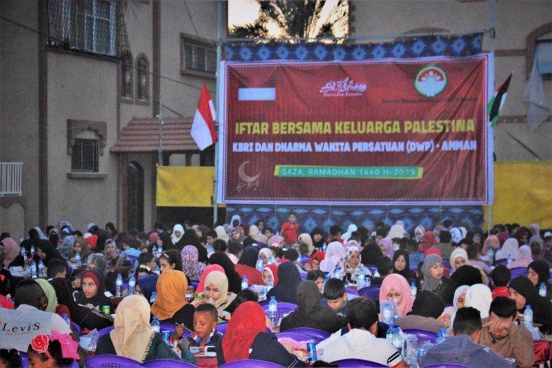 KBRI Amman gelar iftar bersama warga Palestina di Gaza