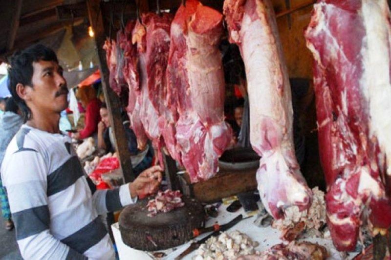 Jelang Lebaran harga daging sapi di Lampung Rp120.000 per kg