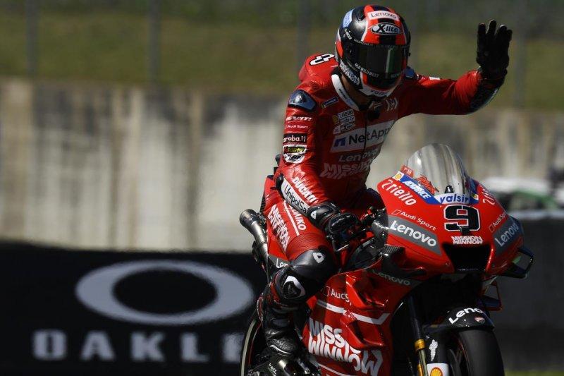 Petrucci raih kemenangan pertama di MotoGP