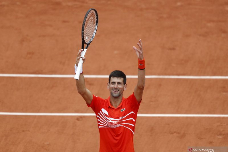 Djokovic ke perempat final French Open setelah tundukkan Struff