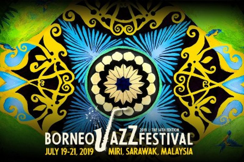 Hadirilah, Borneo Jazz Festival 2019 pada 19 - 21 Juli
