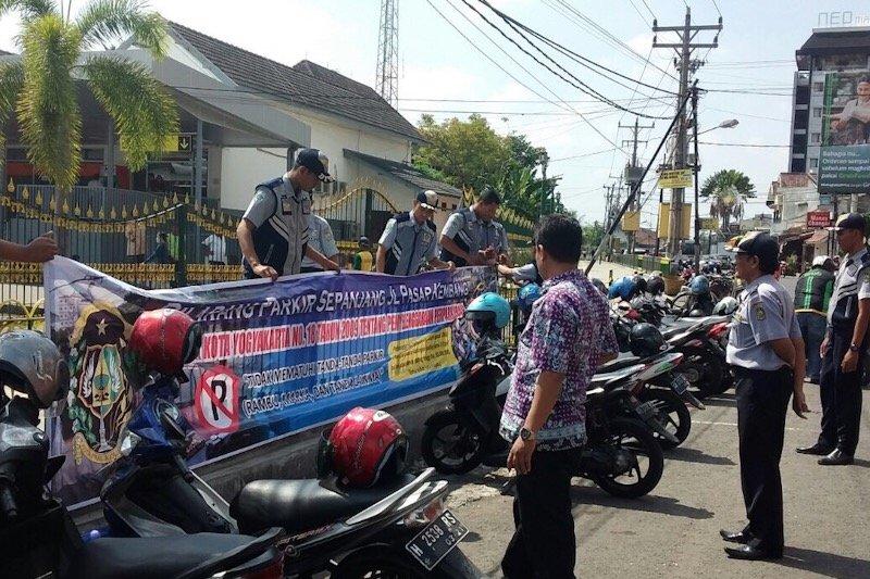 Jika ada masalah parkir di Yogyakarta, WA 081802704212
