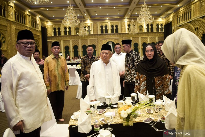 Ma'ruf Amin akan berlebaran di Jakarta dan Banten