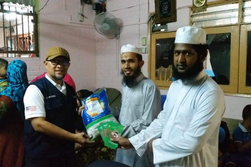 Muhammadiyah Malaysia bagikan zakat fitrah