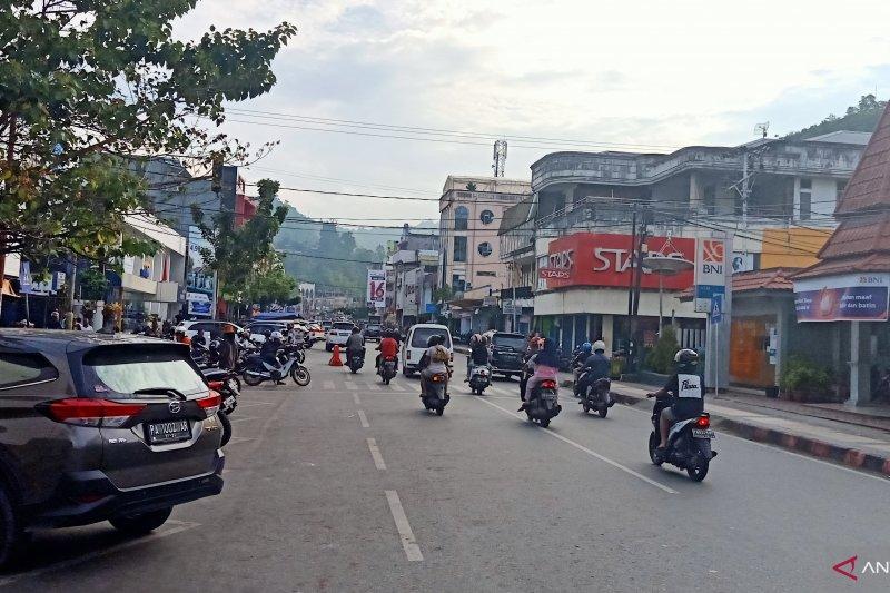 Kota Jayapura lengang jelang Idul Fitri 1440 H