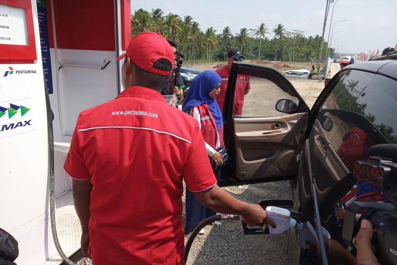 Pemudik minta Pertamina jual premium dan pertalite di tol Trans Sumatera