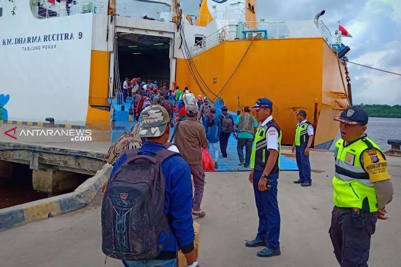 Ratusan pemudik dipastikan nikmati malam Idul Fitri di atas kapal