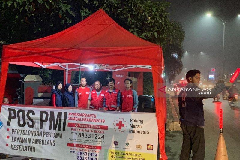 PMI Bekasi siagakan personel 24 jam bantu pemudik