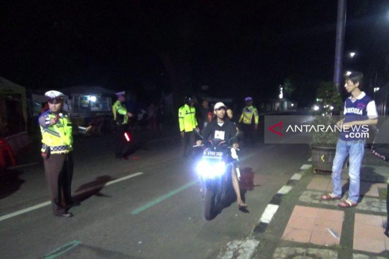 Pascateror ledakan Kartasura, Polres Sukabumi menggelar razia