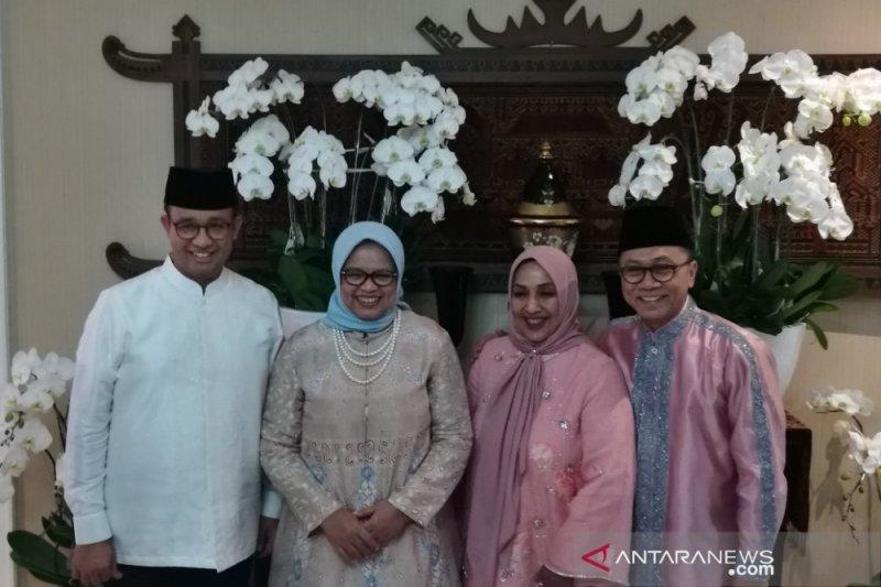 Sambil 'Open House', Ketua MPR Apresiasi Kebijakan Anies Tangani Korban Ricuh 21-22 Mei