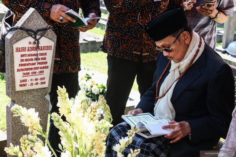 BJ Habibie ditemani keluarga saat wafat