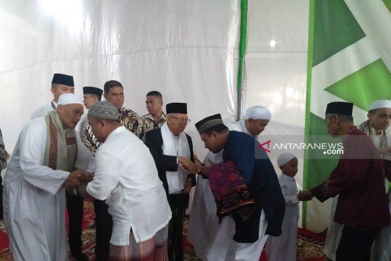 Ma'ruf Amin maknai Idul Fitri kembali pada kerukunan