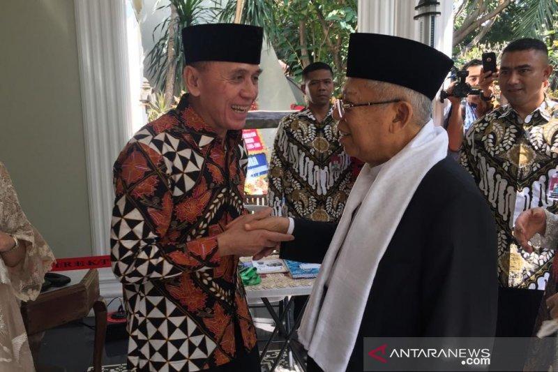 Usai temui Jokowi, Ma'ruf Amin gelar