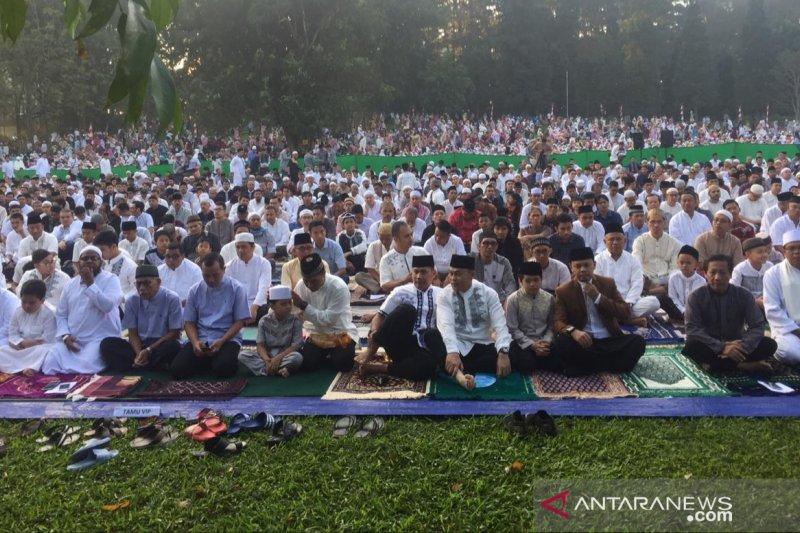 Kebun Raya Bogor LIPI tidak menggelar Shalat Idul Fitri berjamaah