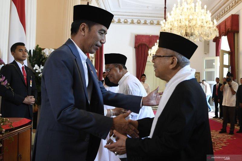 Presiden halal bihalal