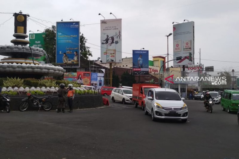 Polres Sukabumi Perkuat Pengamanan Di Pusat Keramaian