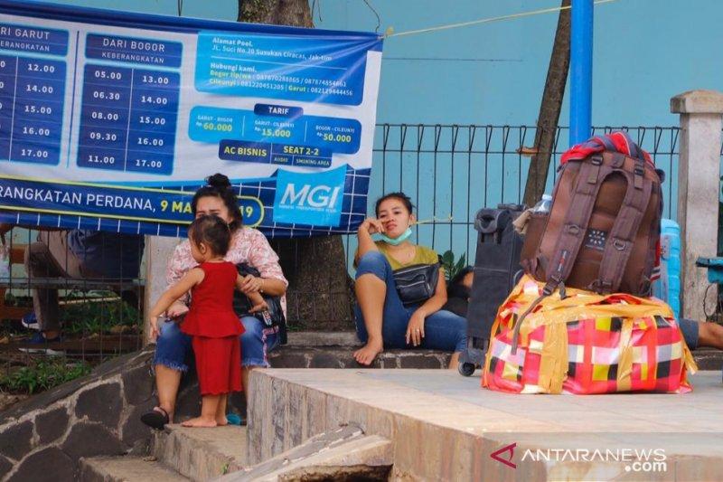 Musim mudik 2019, sebanyak 300.276 orang masuk Kota Bogor