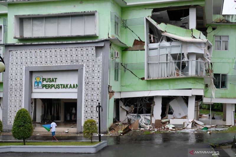 Tanah bergerak di IAIN Ambon