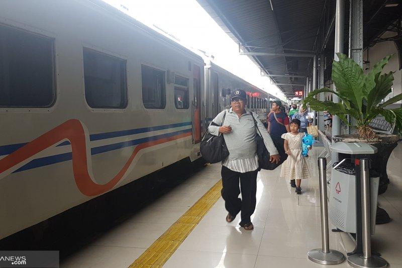 Stasiun Pasar Senen berangkatkan 26.839 pemudik